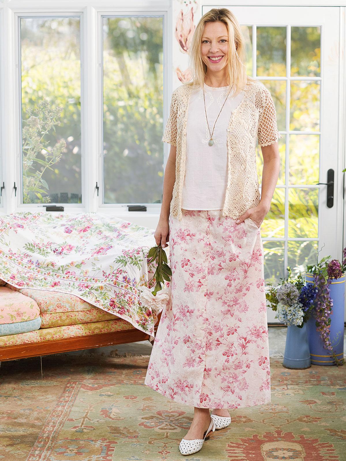 Pink Cloud Skirt