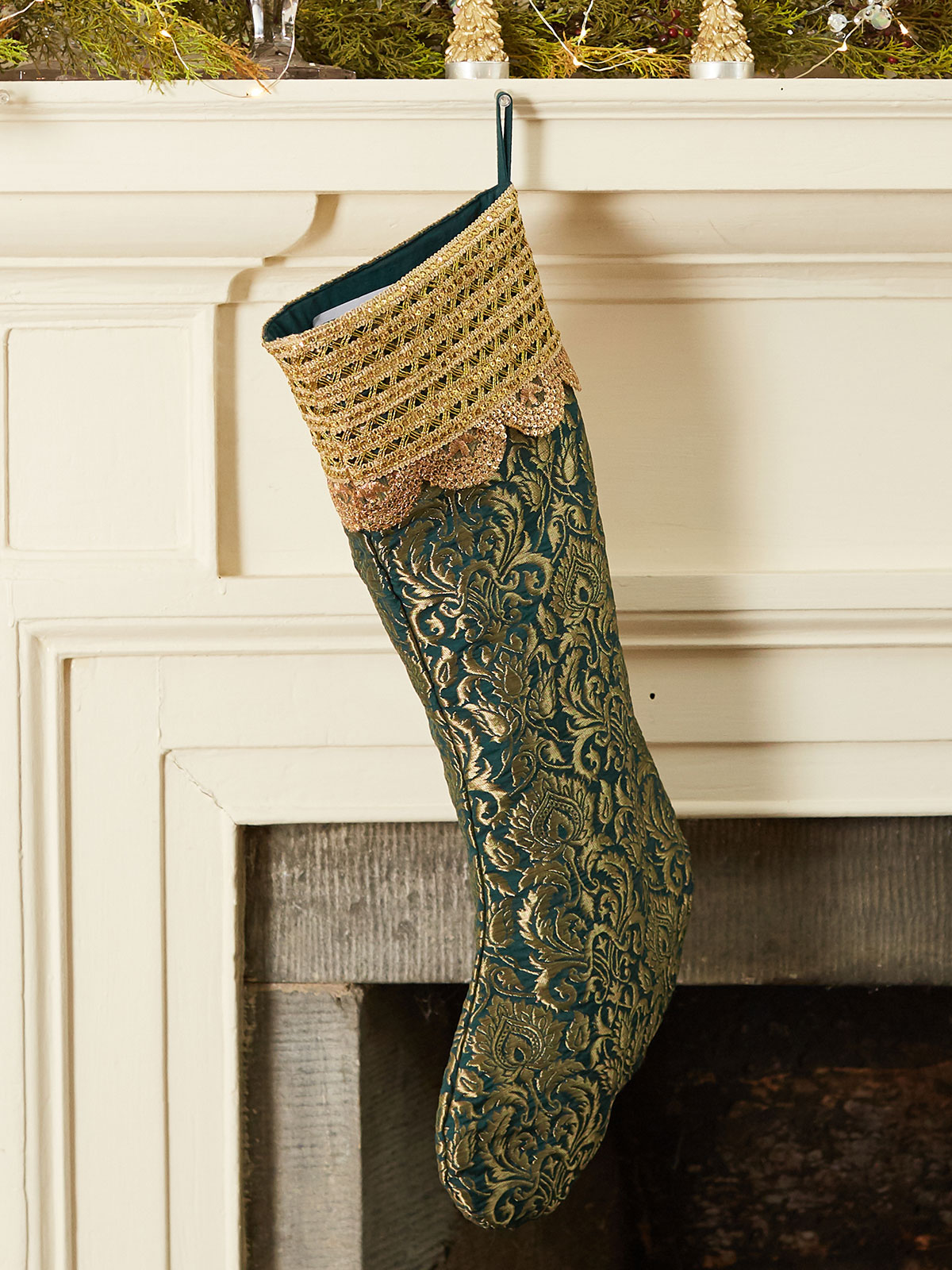 Brocade Stocking