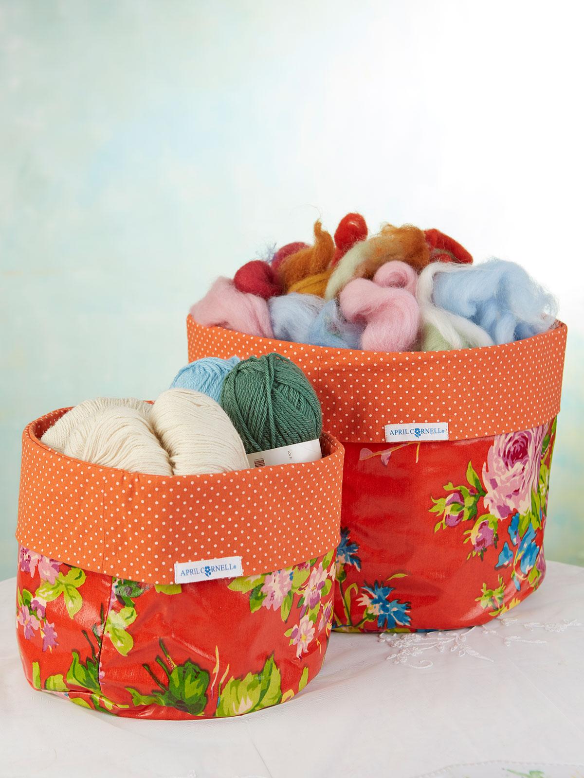 Arts and Craft Baskets Set