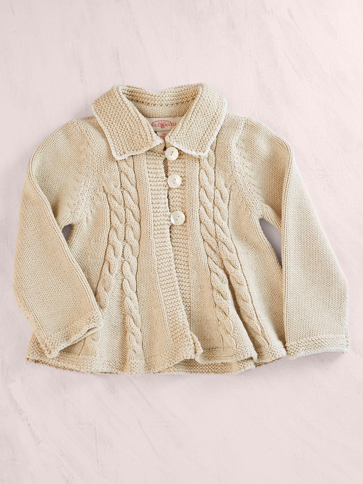 Summer Cabin Girls Sweater