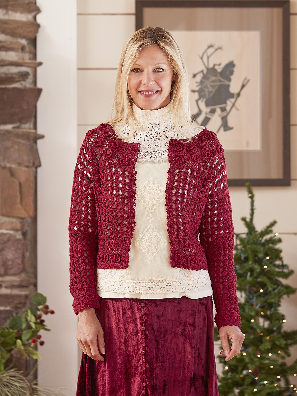 Heirloom Crochet Sweater