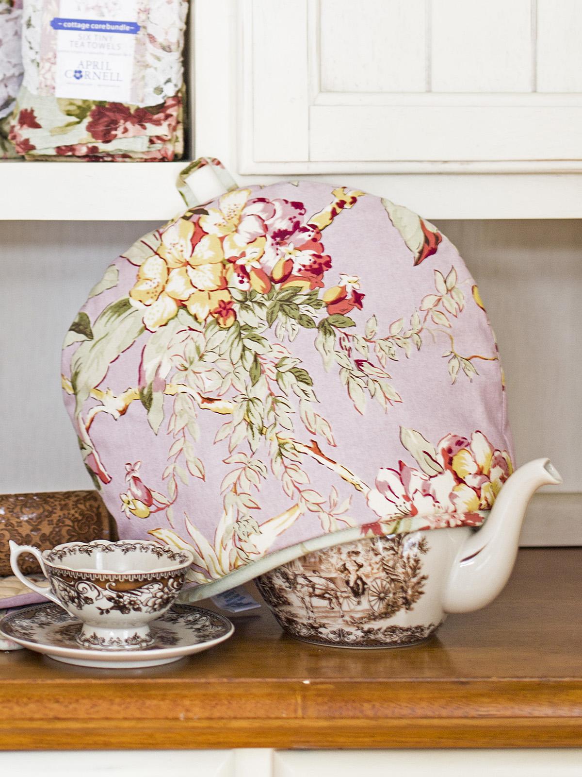 Cottage Core Patchwork Tea Cozy