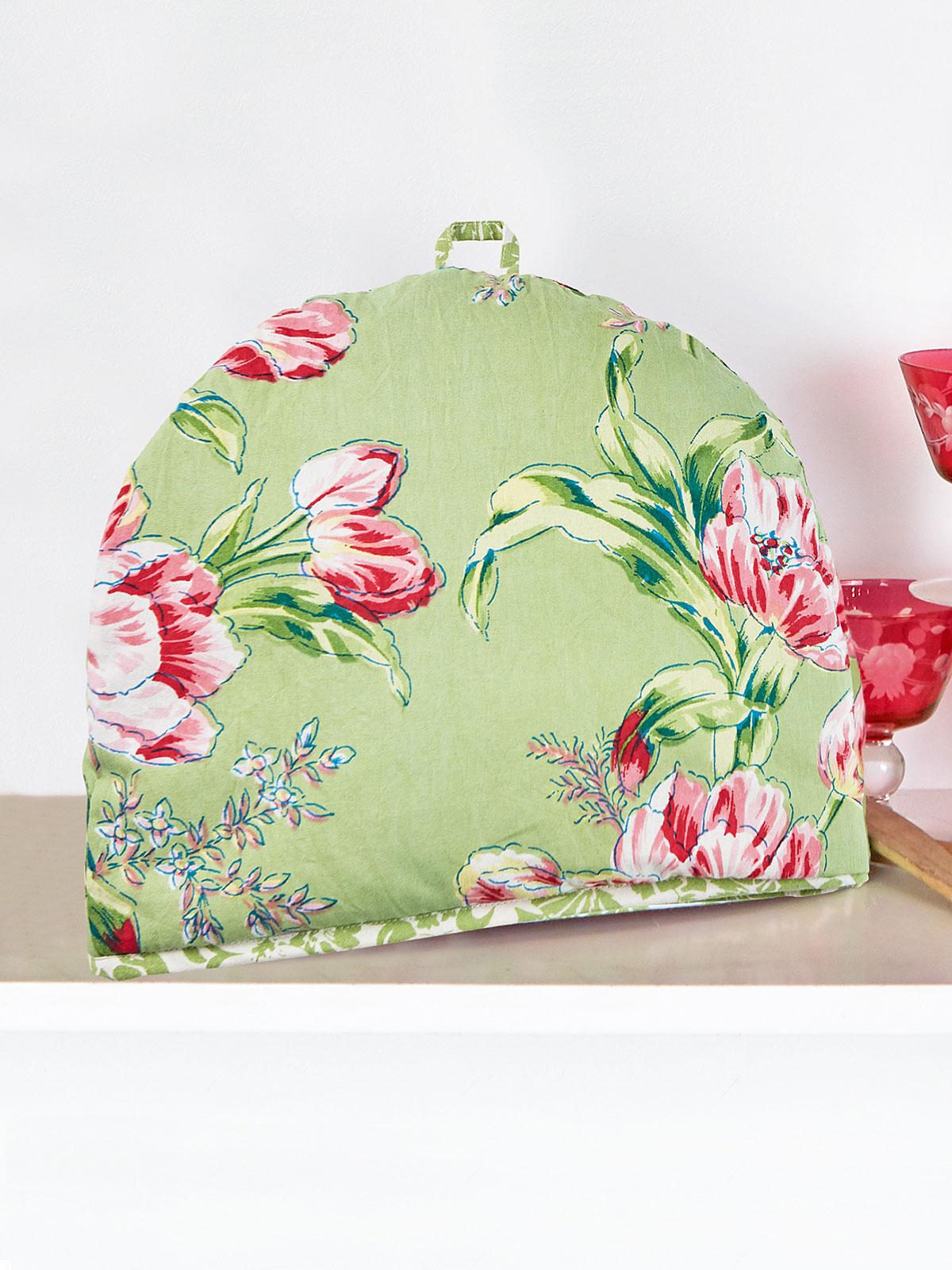 Spring Bouquet Patchwork Tea Cozy