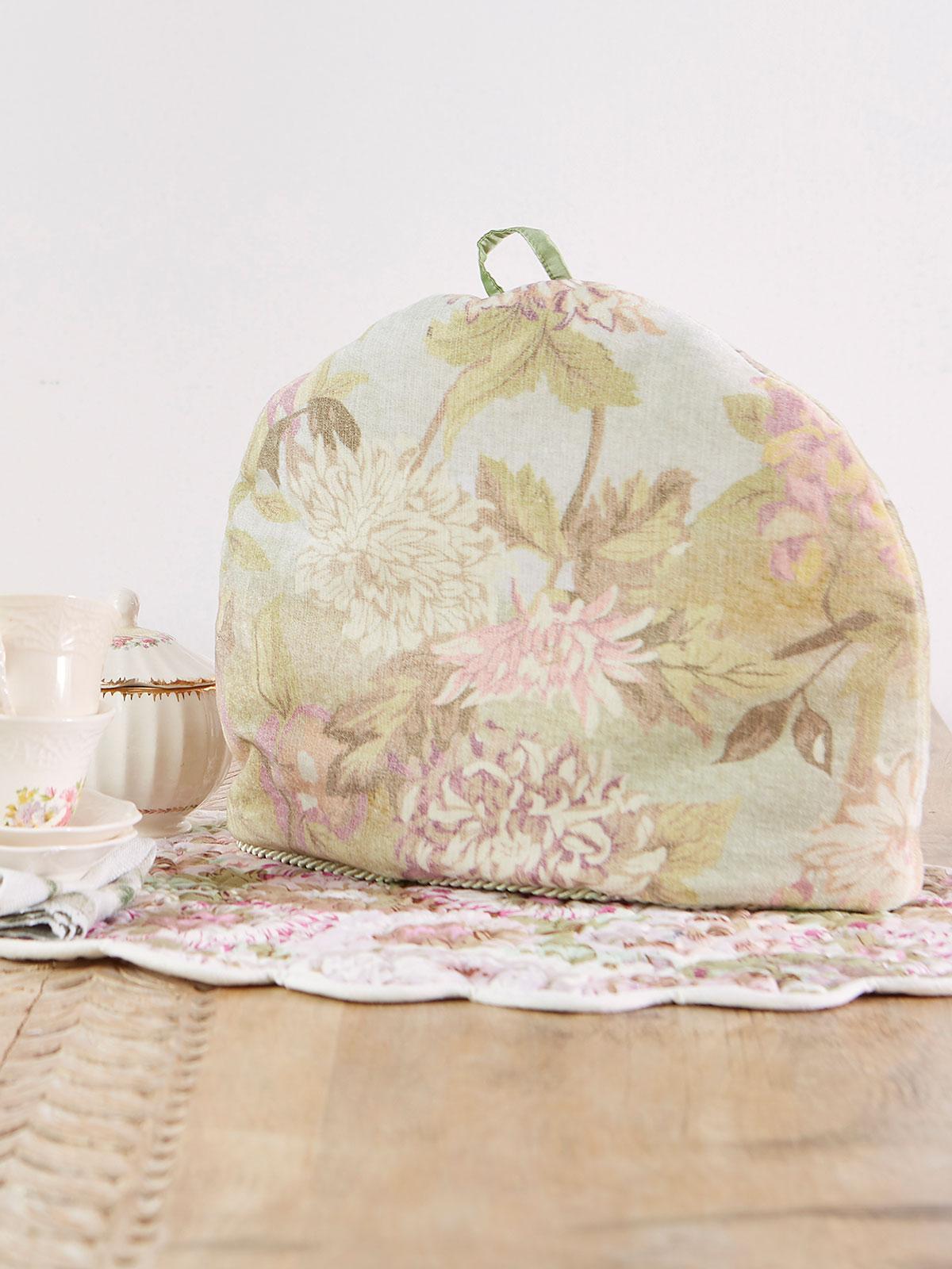 Tea Garden Velvet Tea Cozy