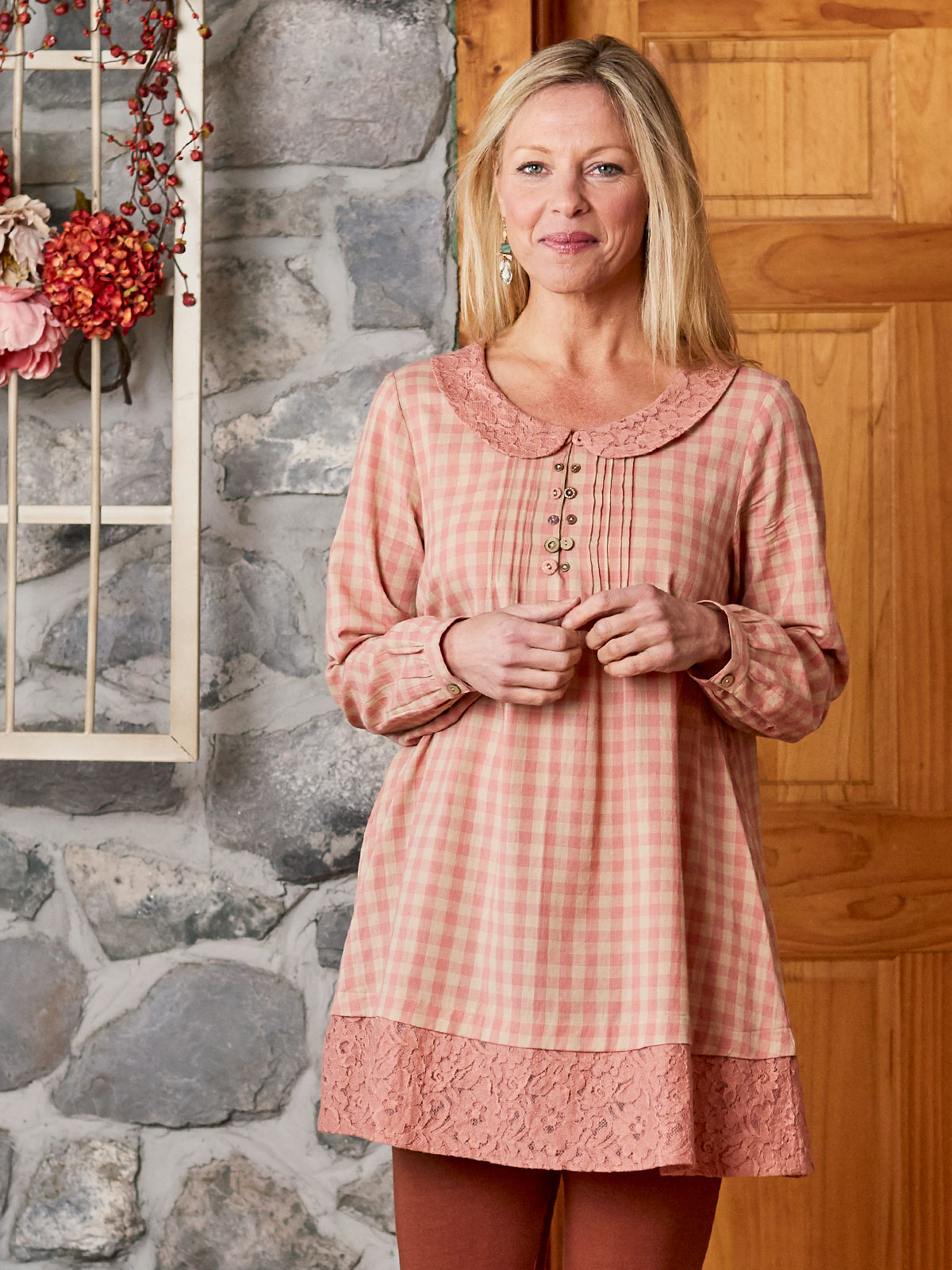 Country Check Tunic
