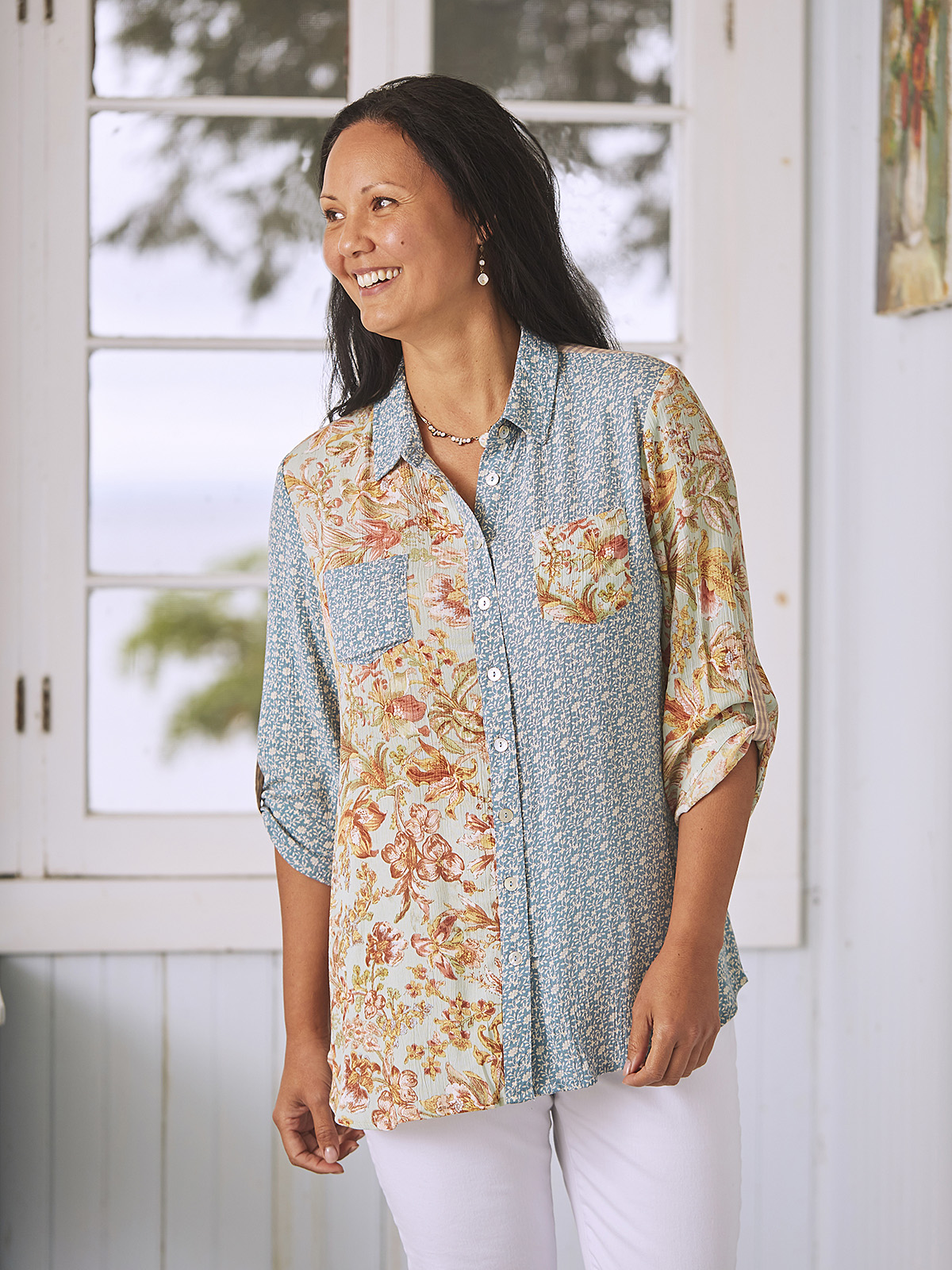 Cottage Patchwork Tunic