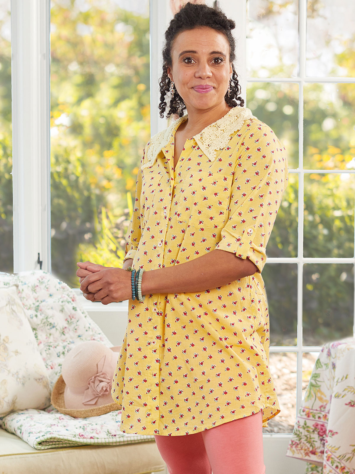 Honey Flower Tunic