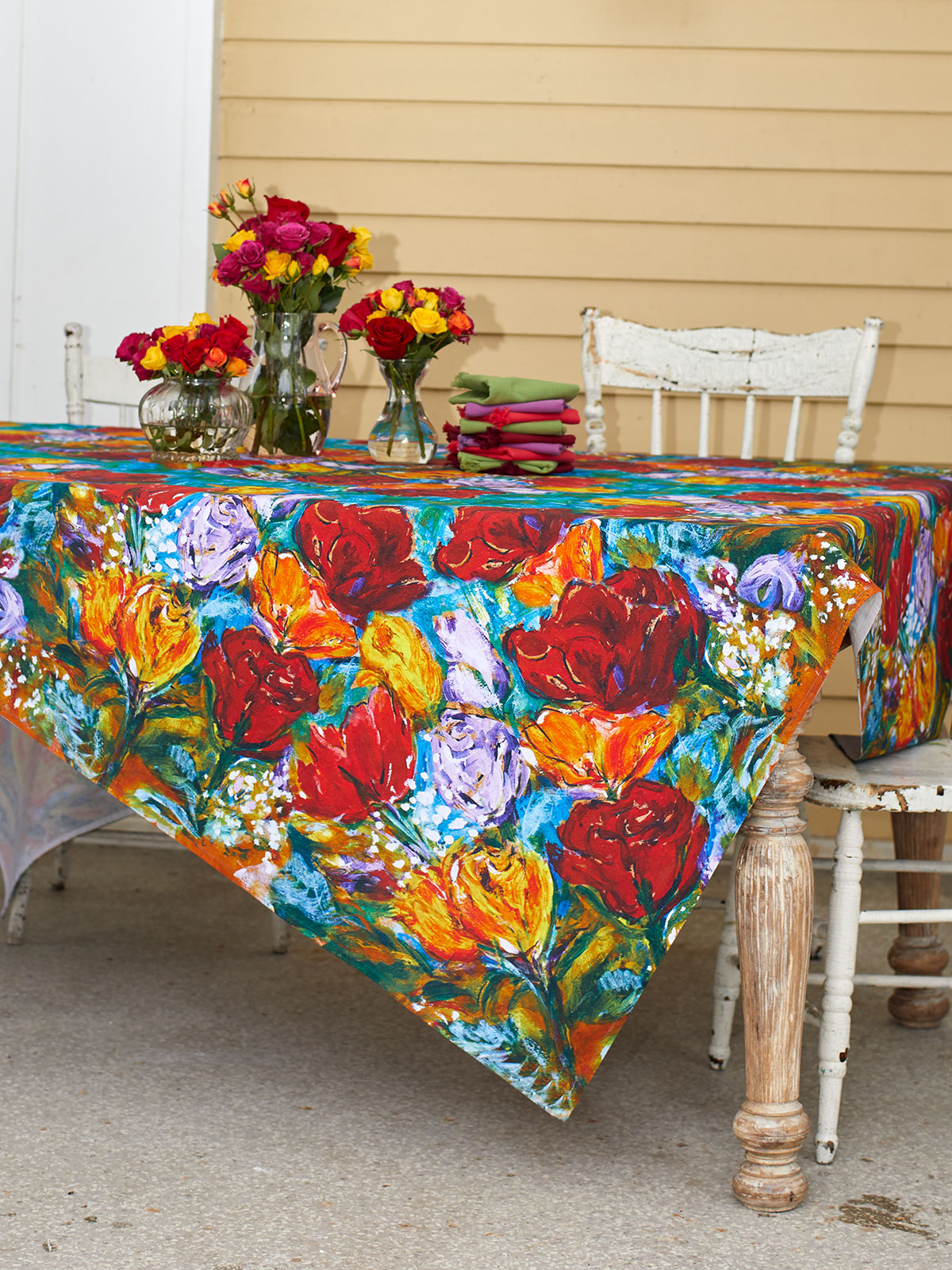 Always Roses Tablecloth