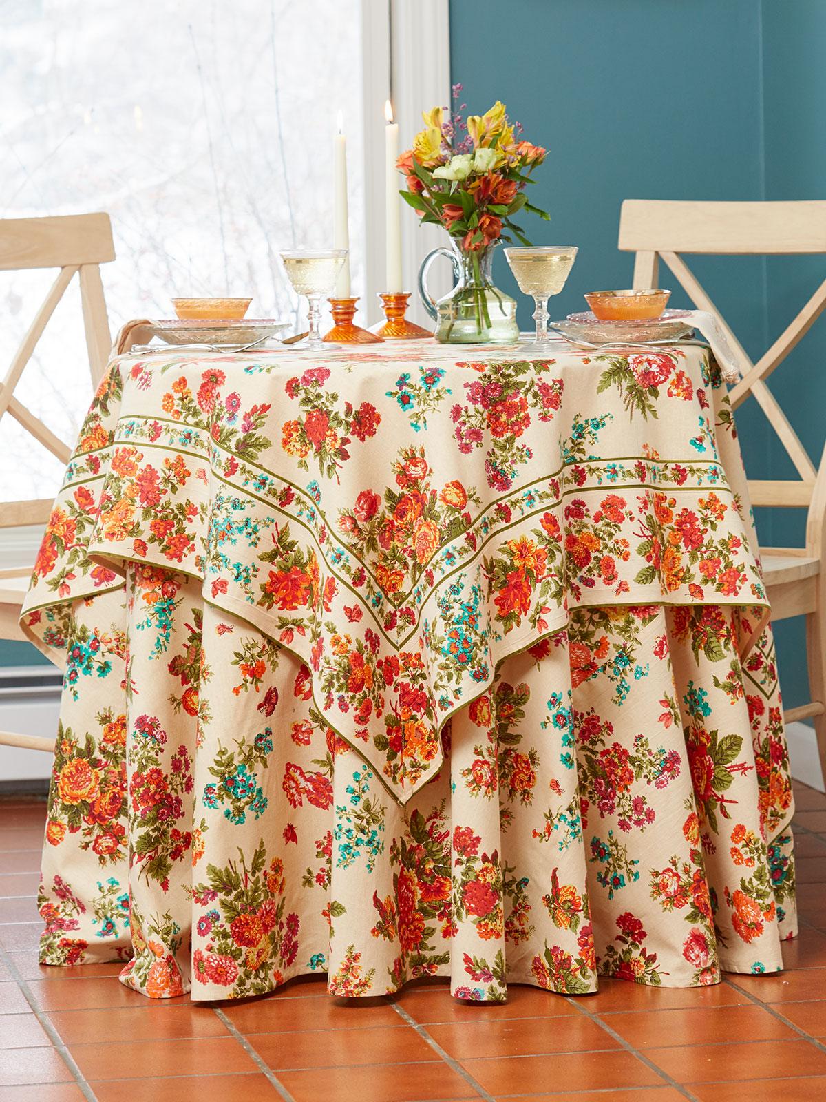 Artist Garden Tablecloth