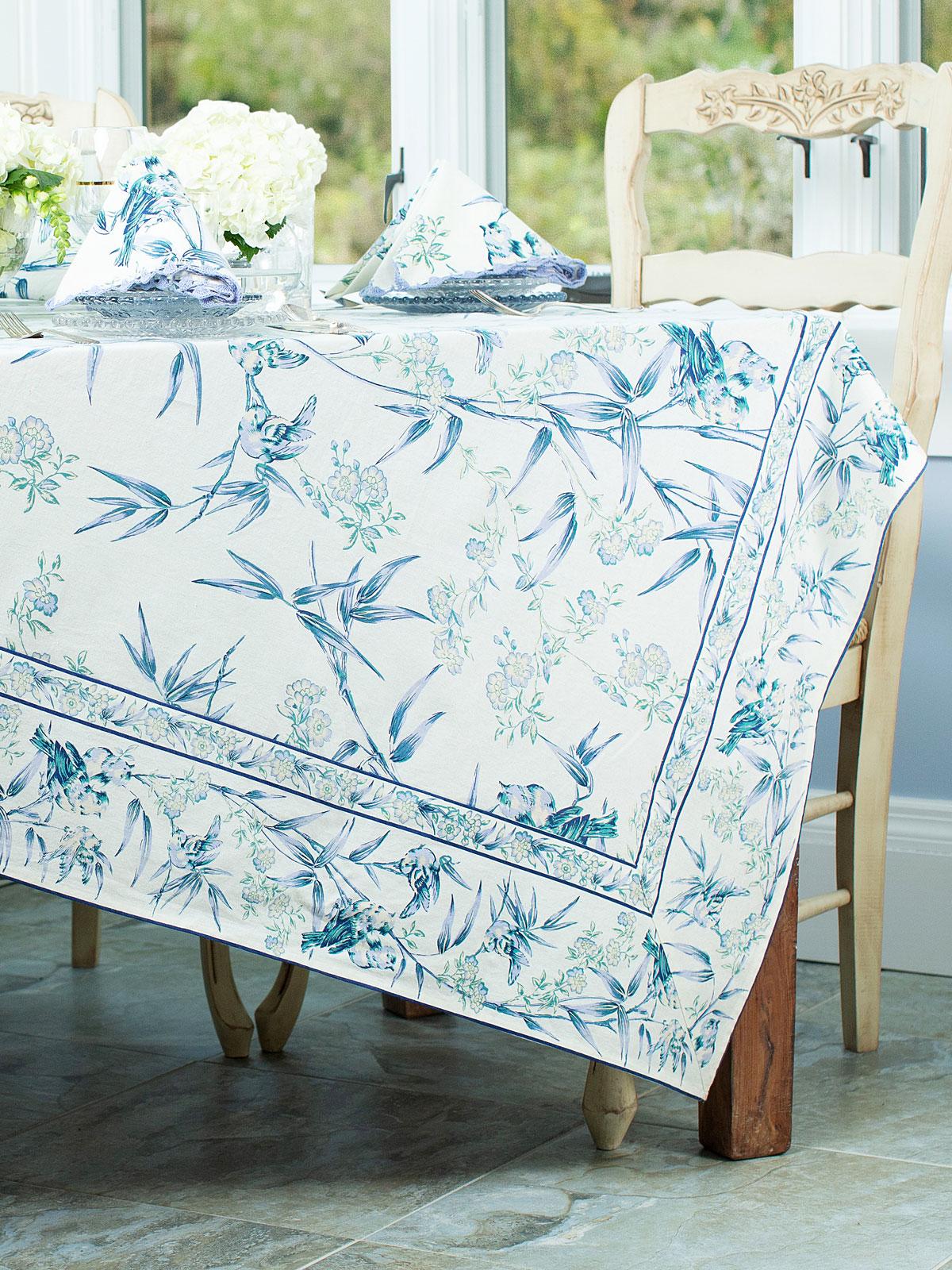 Bamboo Garden Tablecloth