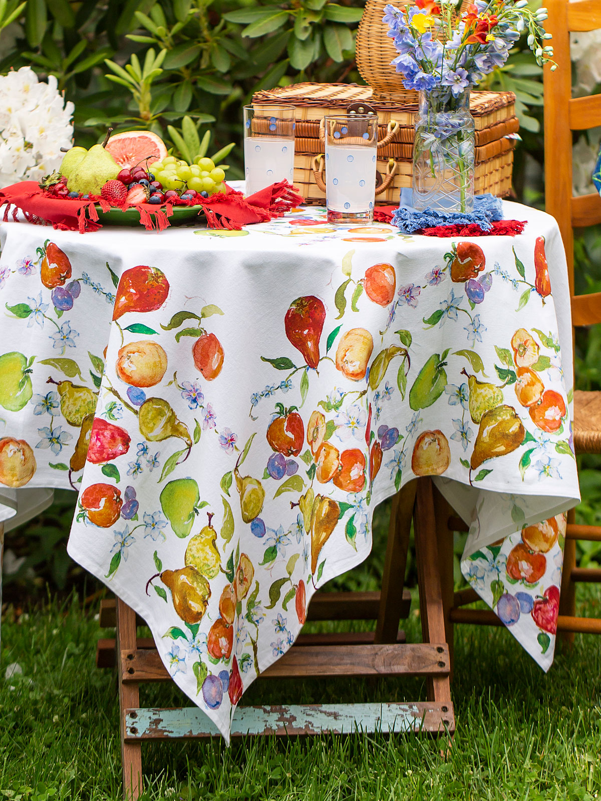 Fresh Fruit Tablecloth