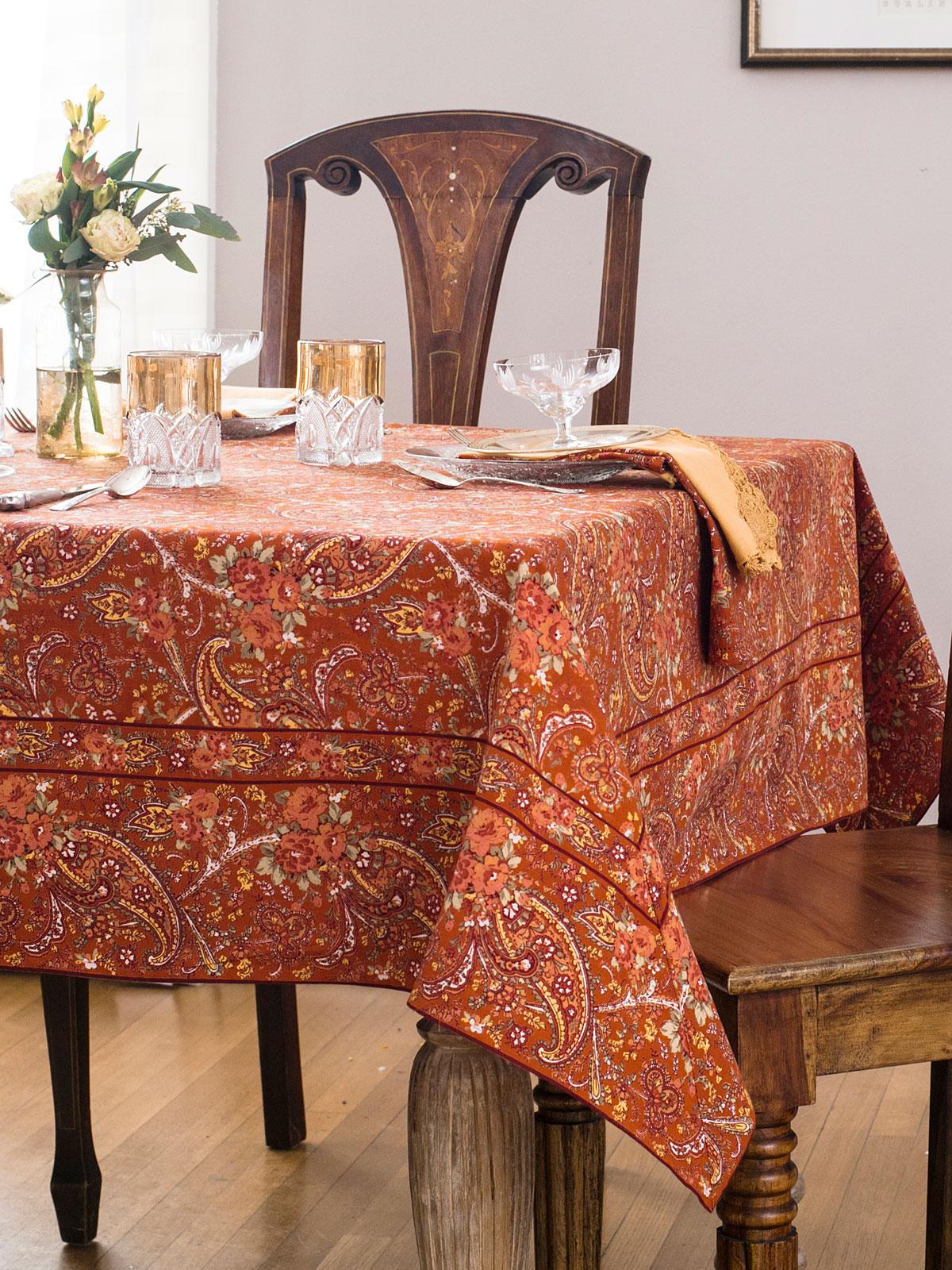 Garden Paisley Tablecloth