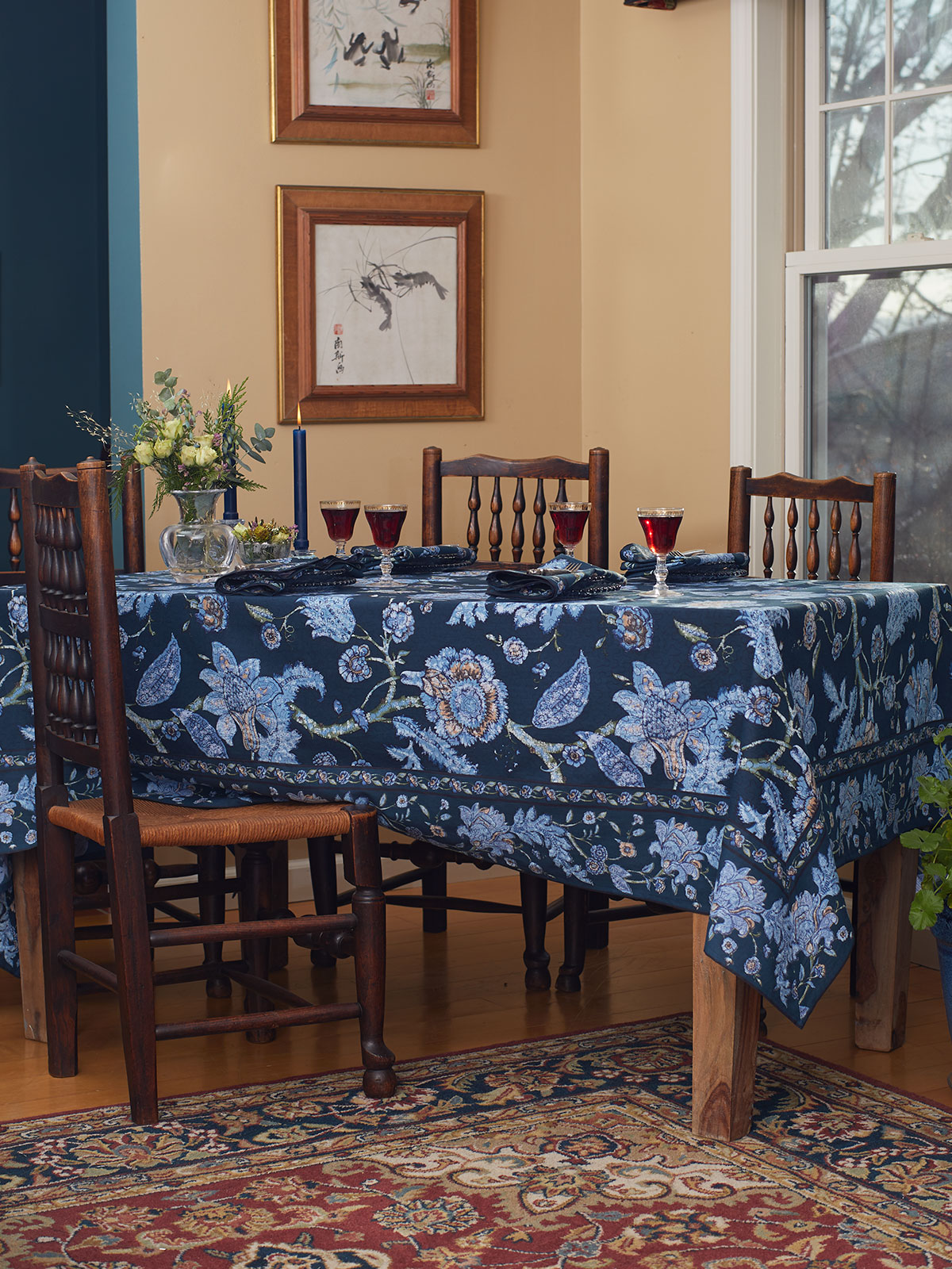 Jacobean Garden Tablecloth