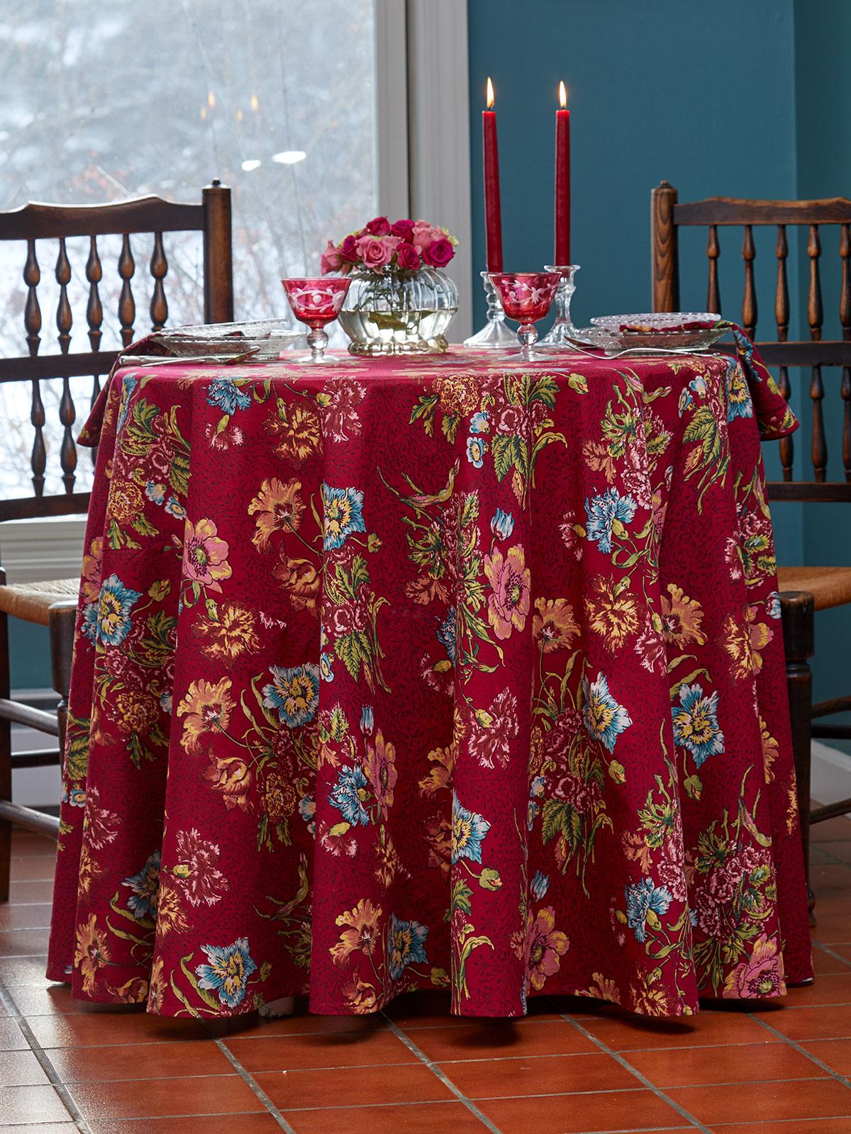 Jaipur Garden Round Tablecloth