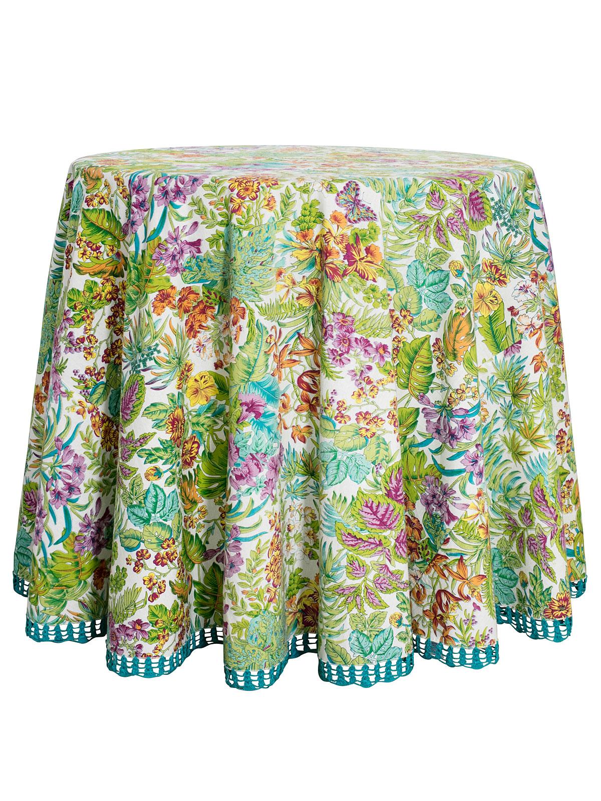 Jungle Round Tablecloth