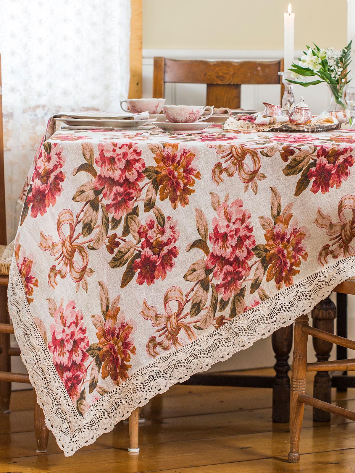 Carolina Linen Tablecloth