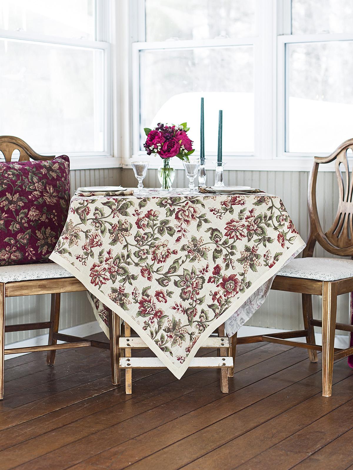 Concerto Linen Tablecloth