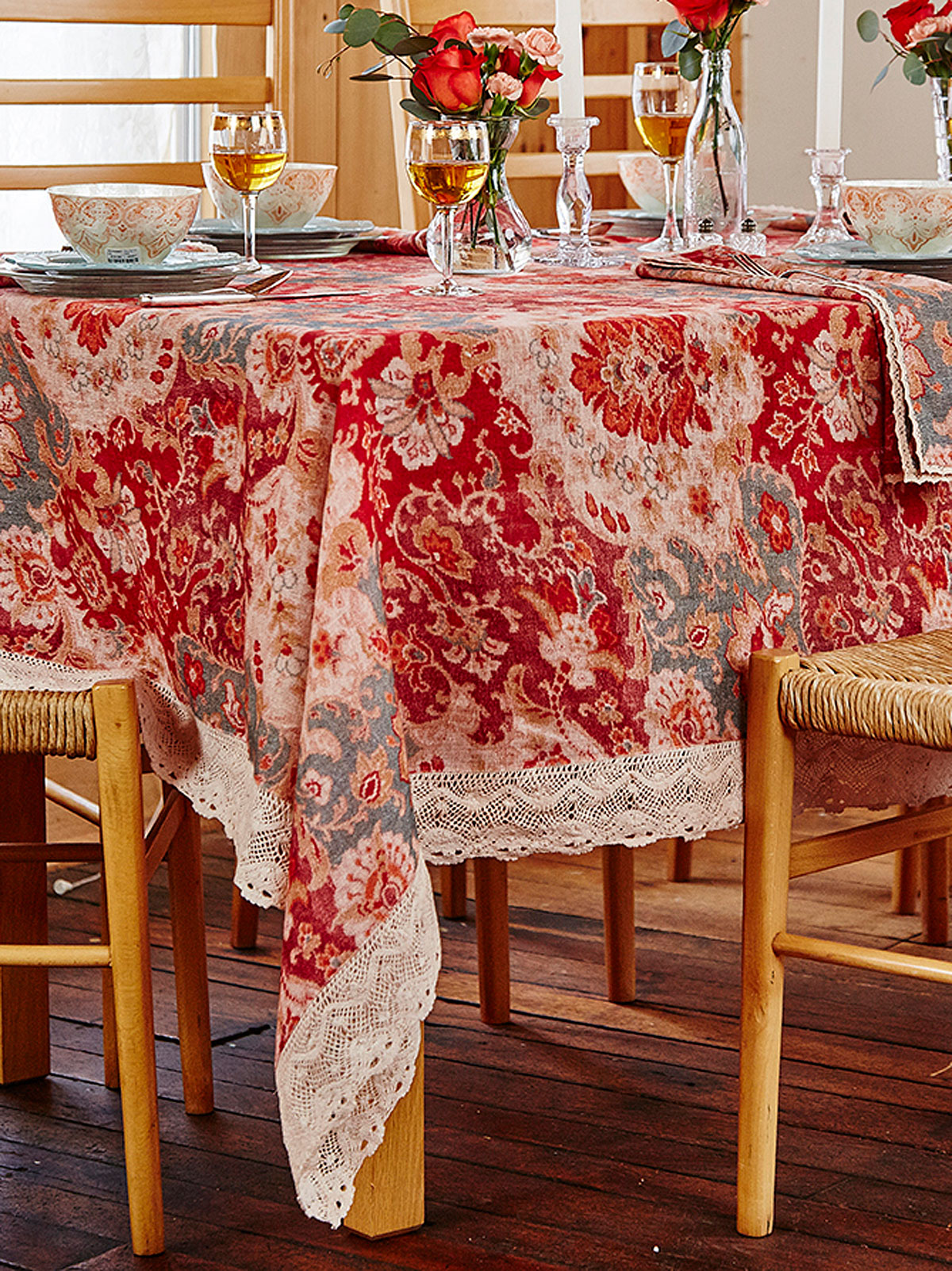 Magic Carpet Linen Tablecloth