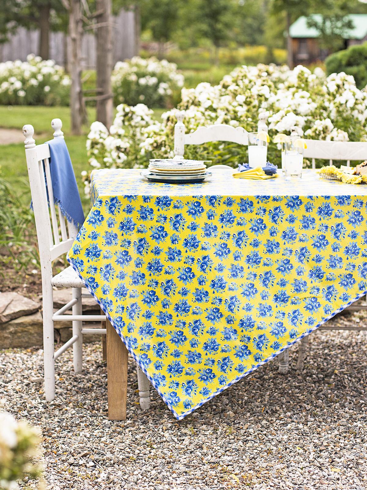 Elizabeth's Garden Oilcloth
