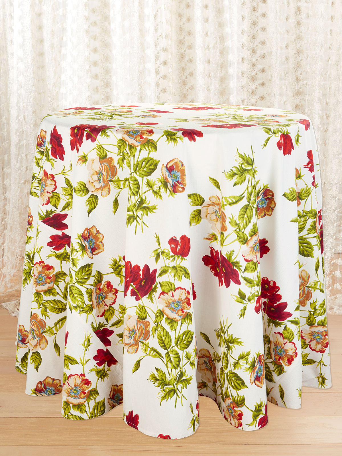 Poppy Round Tablecloth
