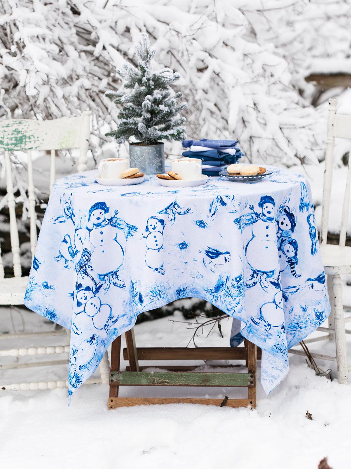 Snowman Tablecloth