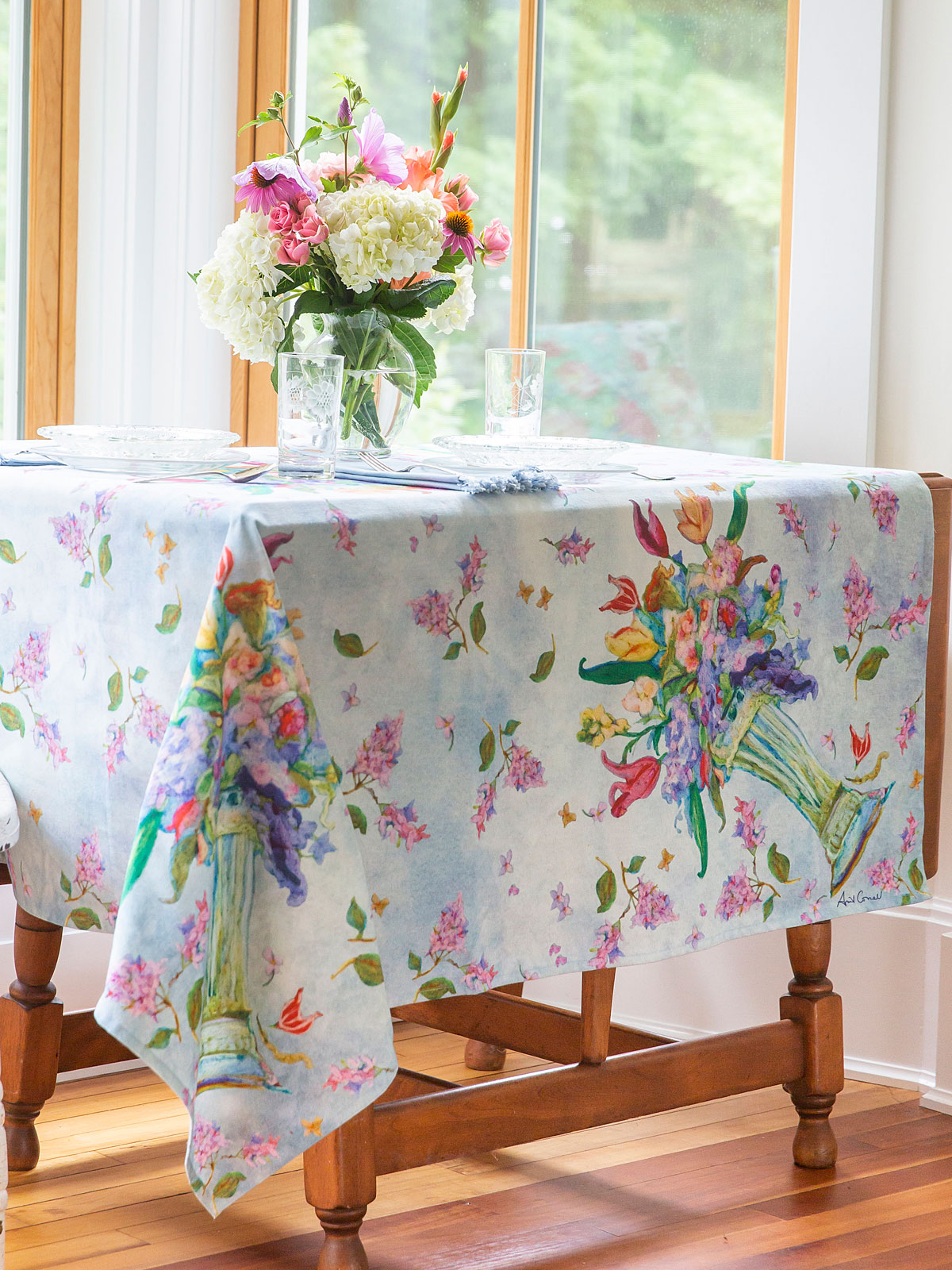Spring Romance Tablecloth