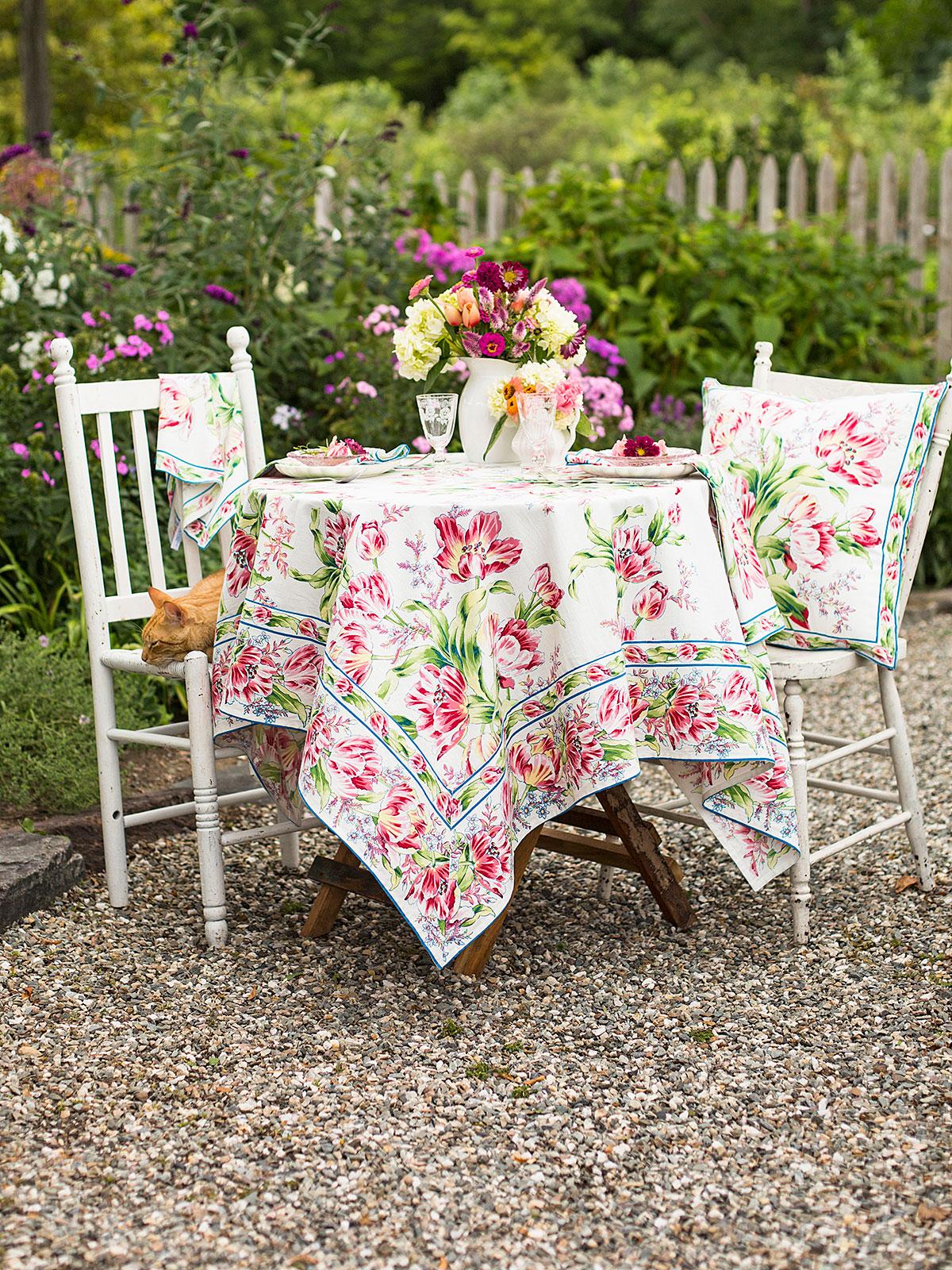 Tulip Dance Tablecloth