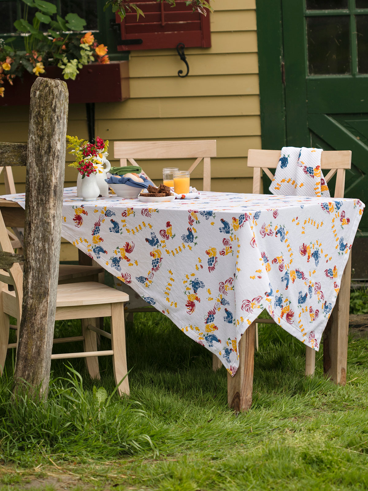 Vermont Barnyard Tablecloth