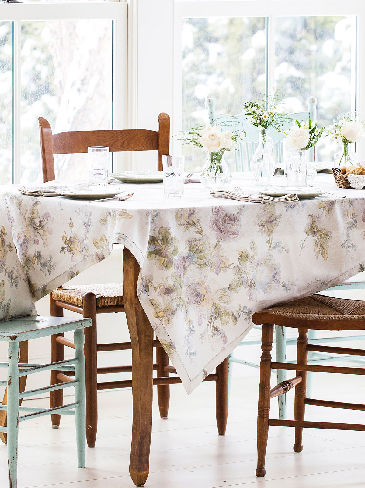 Victorian Rose Tablecloth