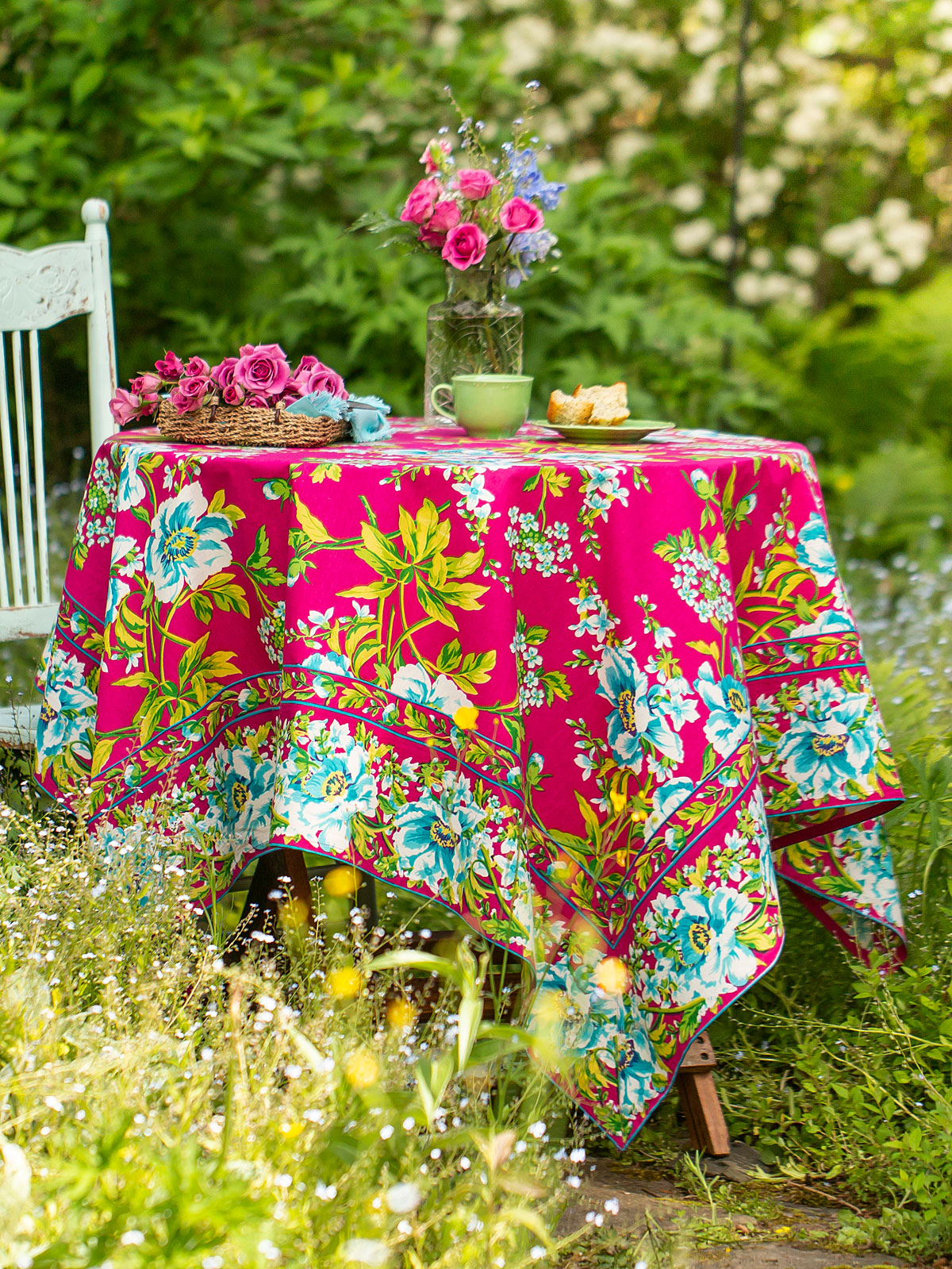 Waterlily Tablecloth