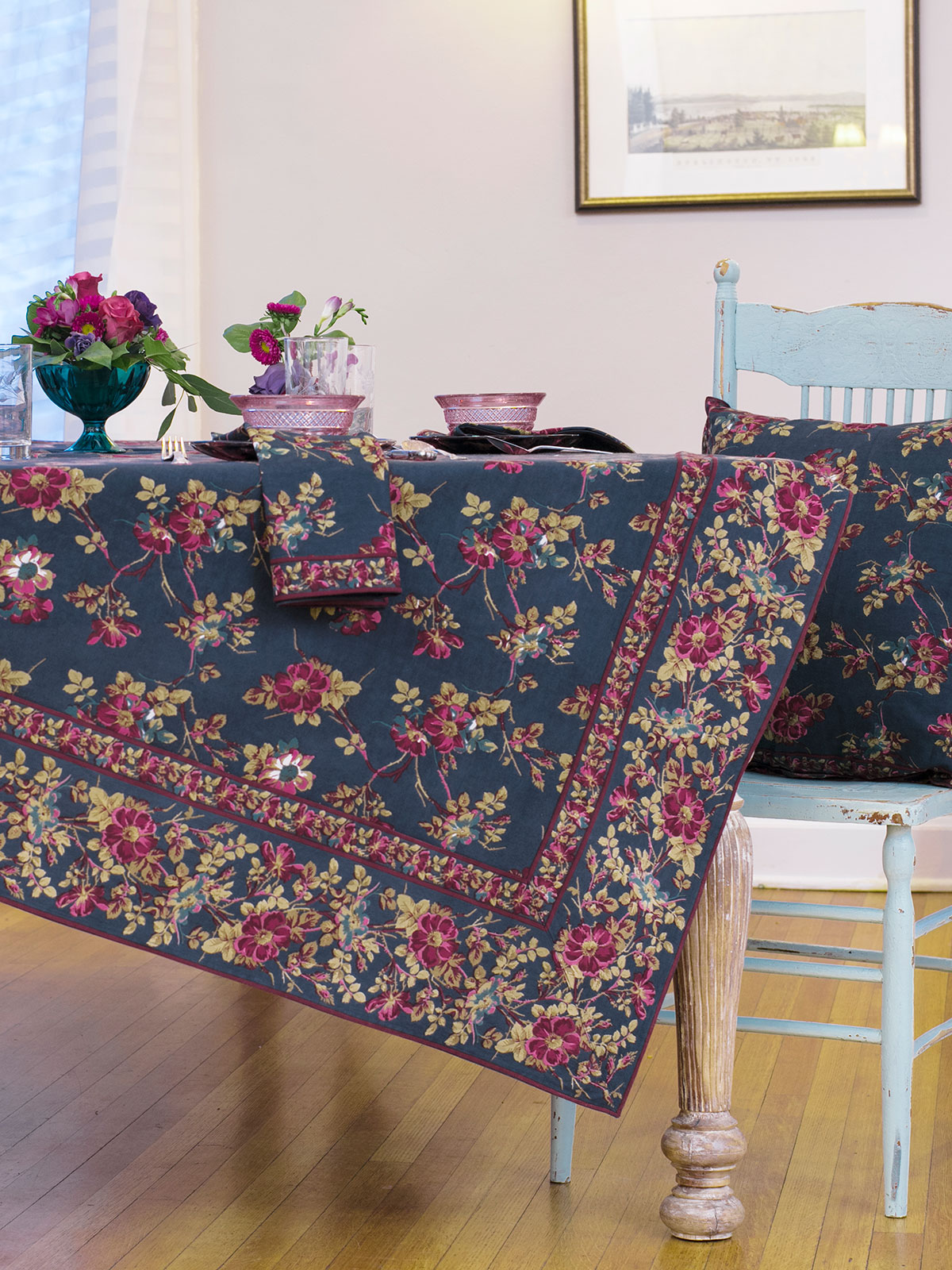 Wild Rose Tablecloth