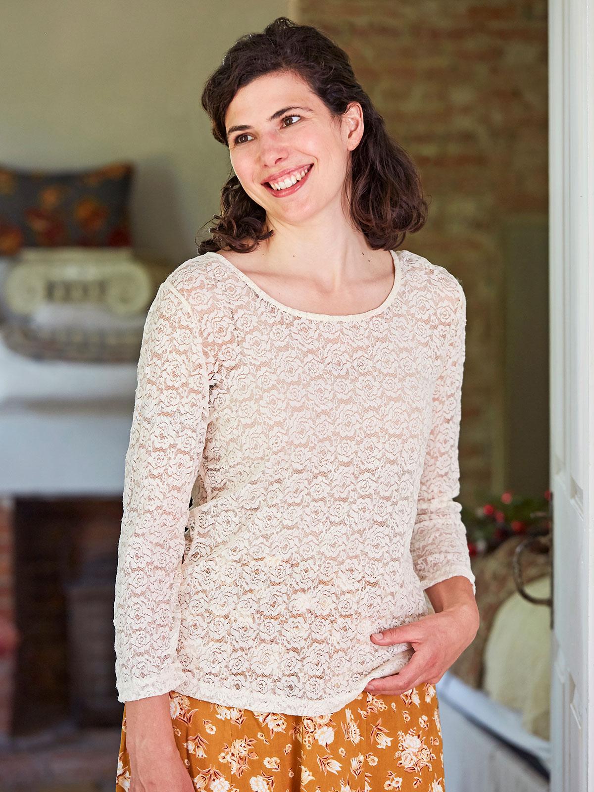 Amelie Scoopneck T-Shirt