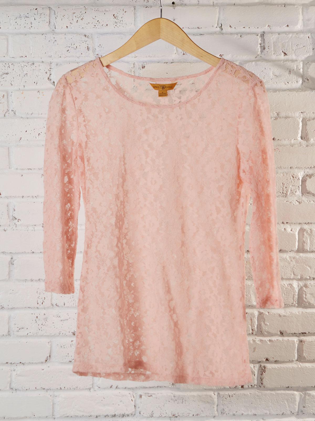 Rachelle Lace T-Shirt