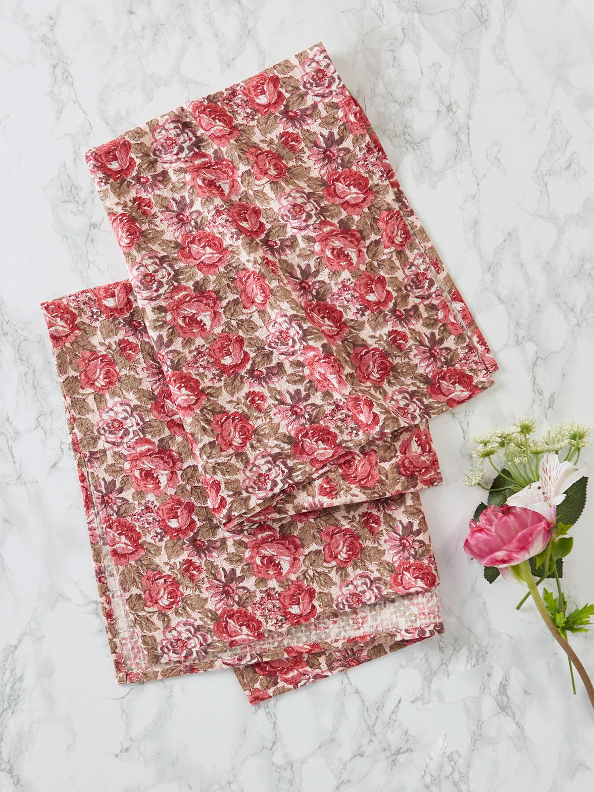 Antiquarian Tea Towel Set of 2