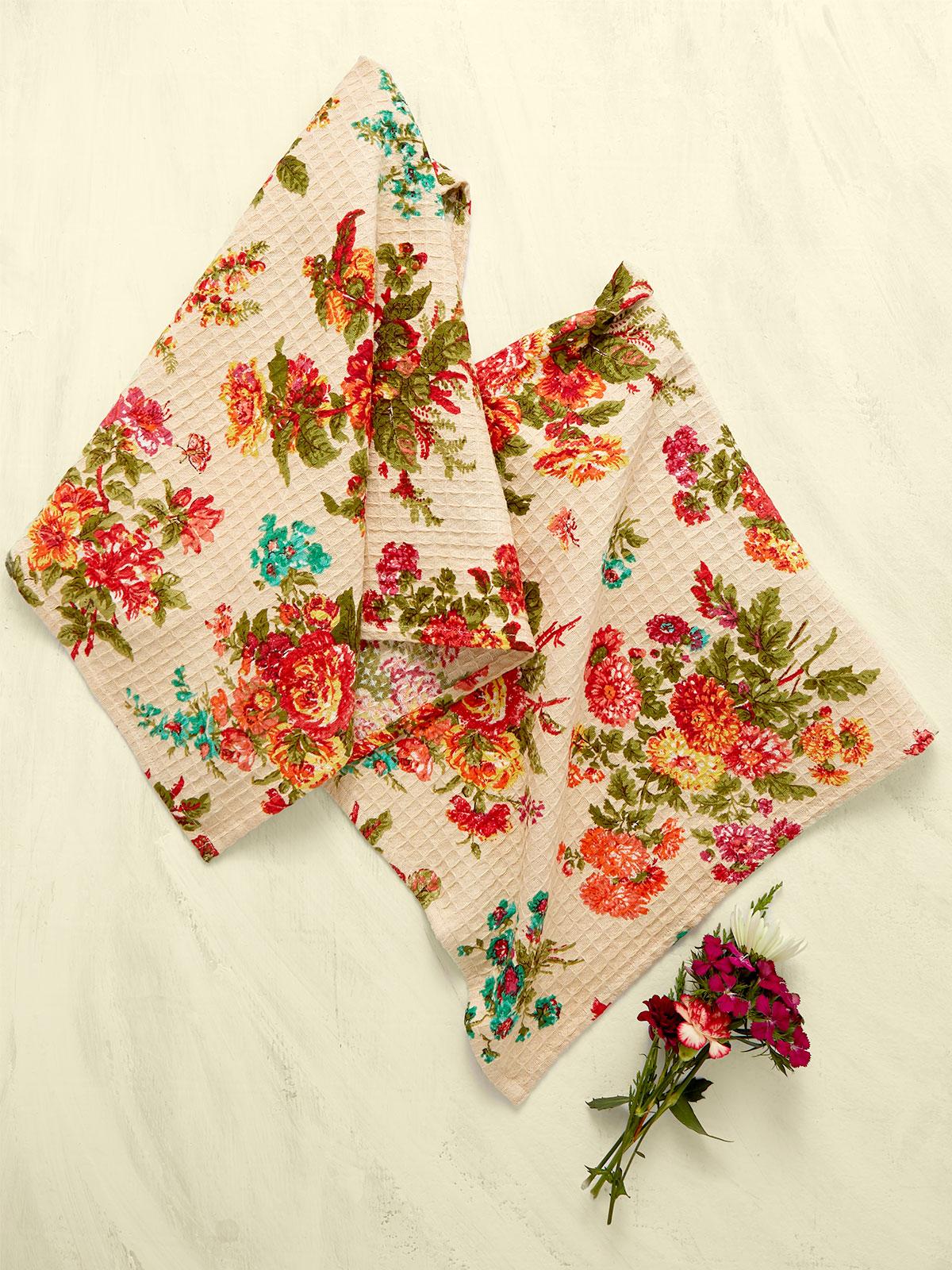 Artist Garden Tea Towel S/2