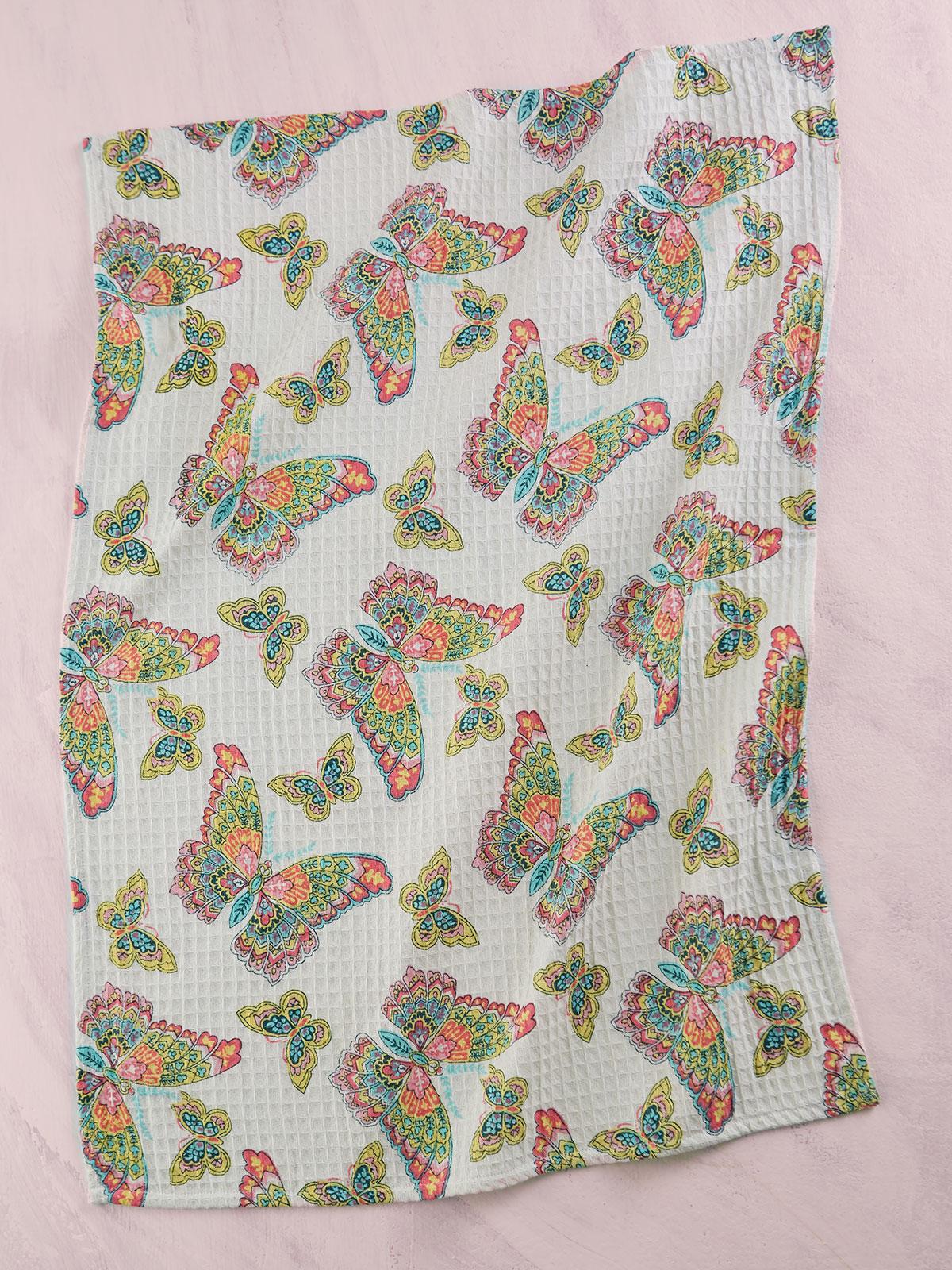 Butterfly Tea Towel Set of 2
