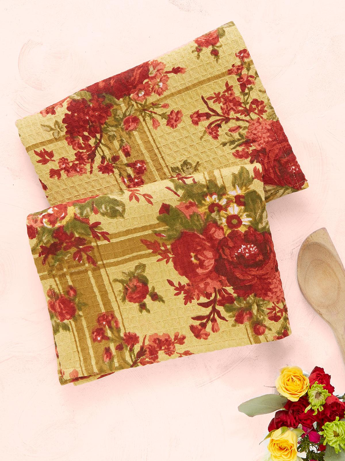 Cornwall Cottage Tea Towel S/2