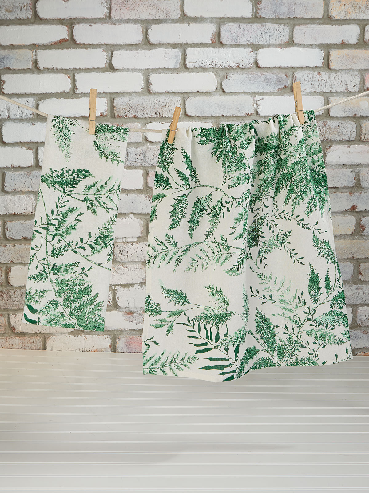 Fern Tea Towel Set of 2