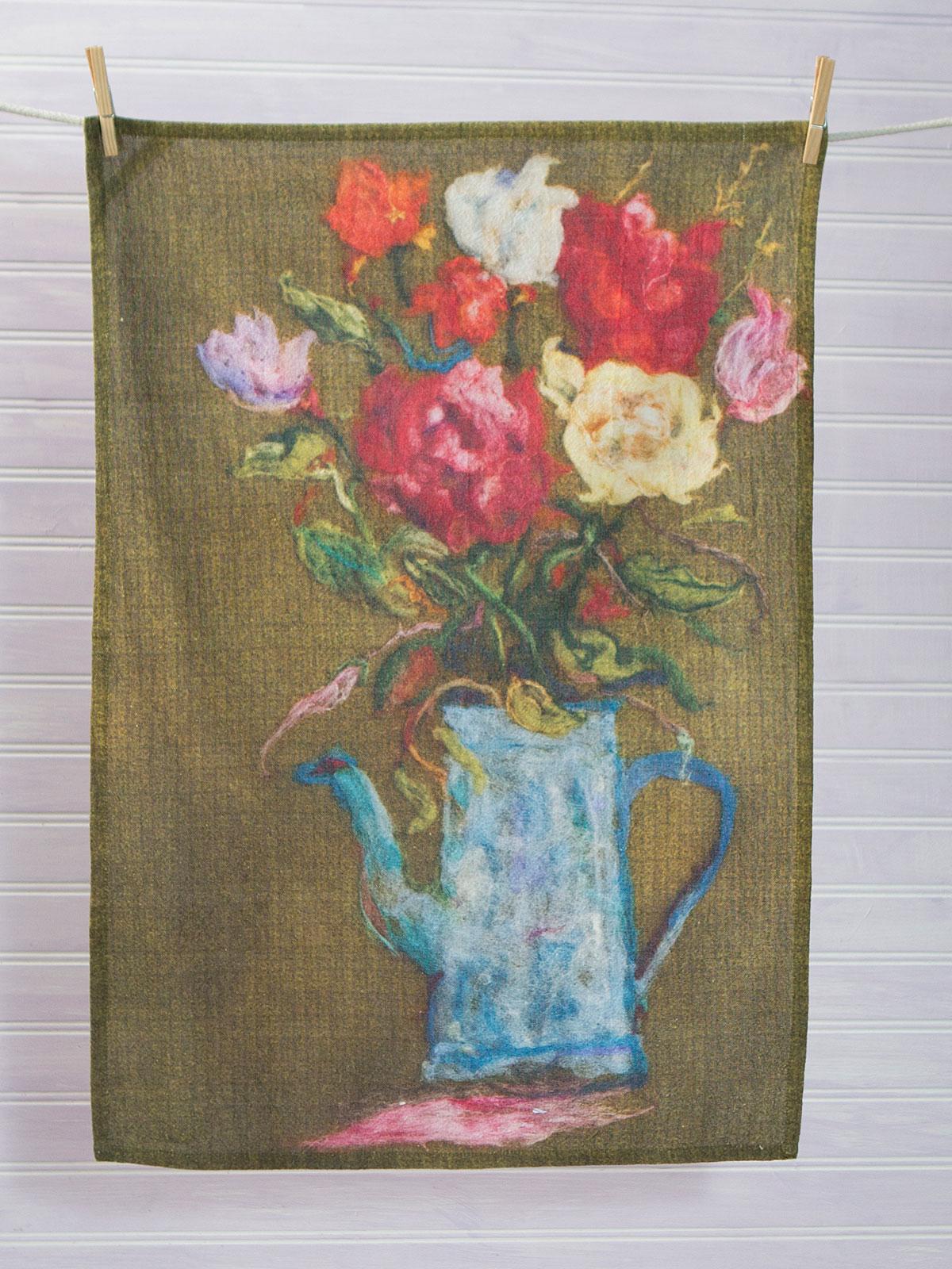 Grammie's Garden Tea Towel
