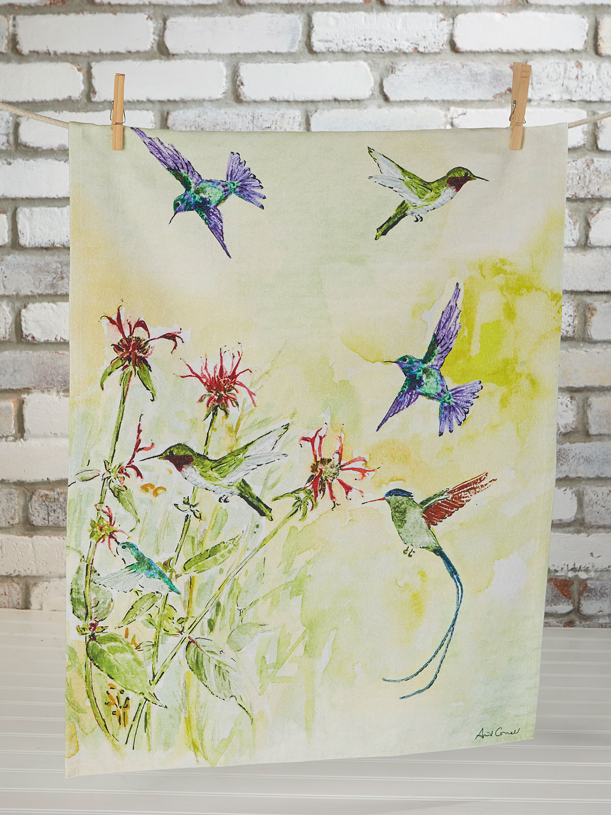Hummingbird Tea Towel