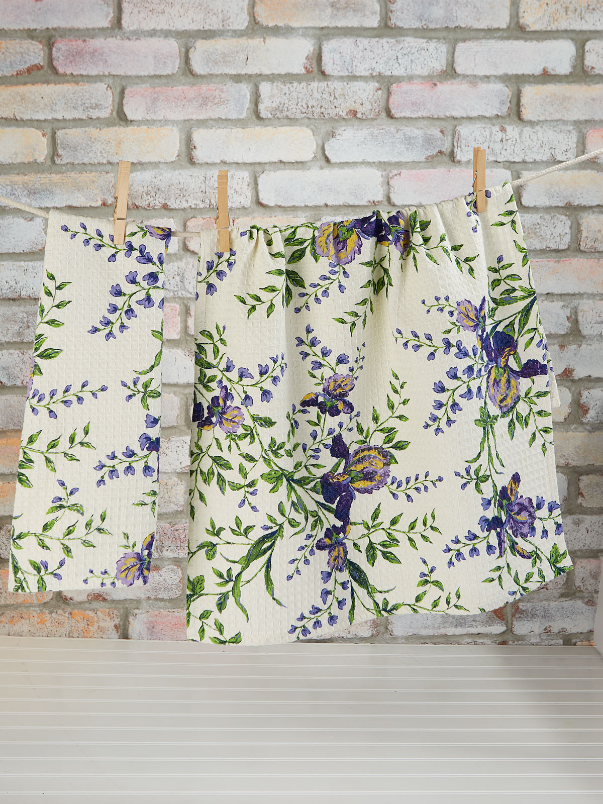Irresistible Iris Tea Towel Set of 2