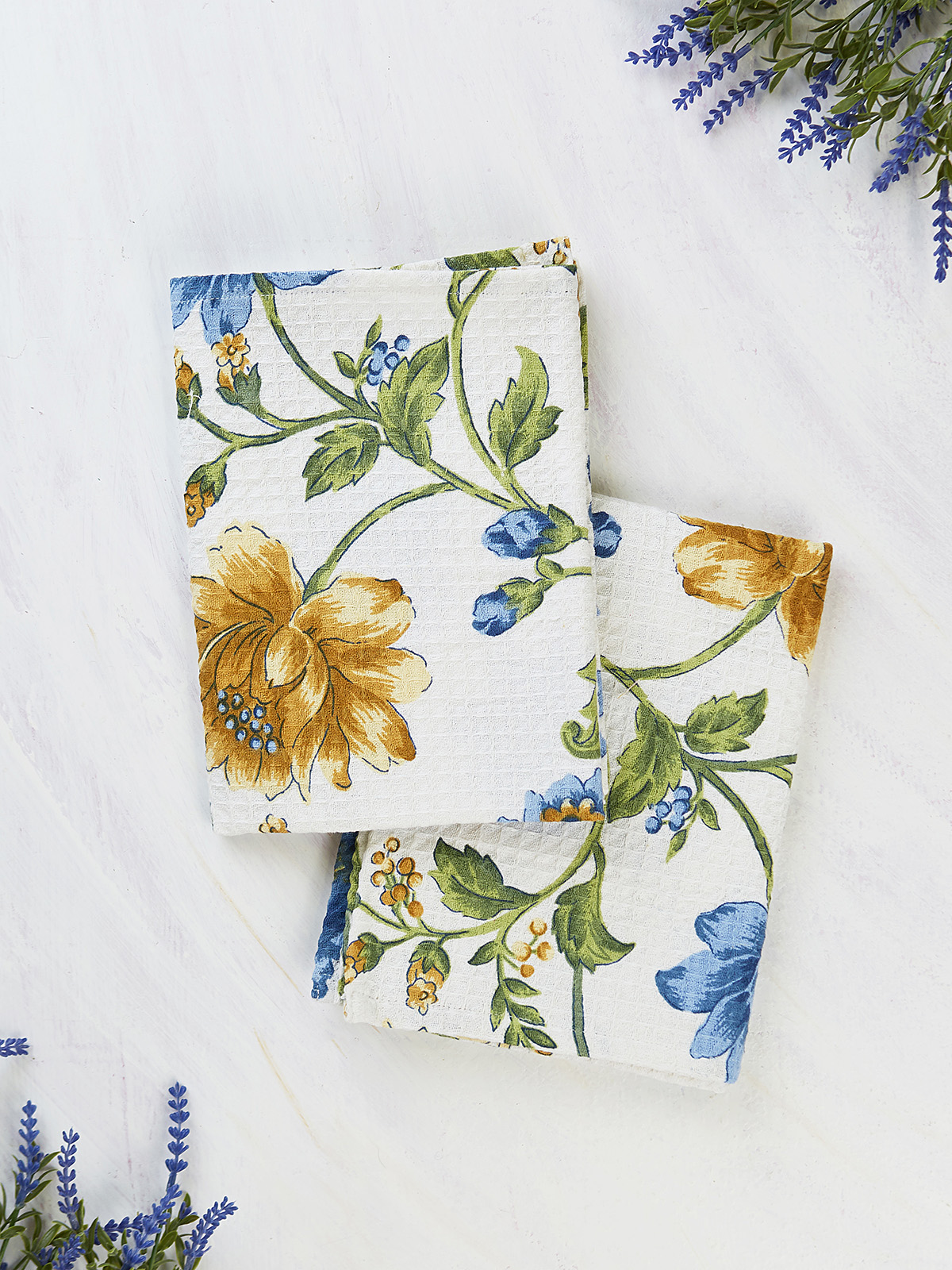 Rosehip Tea Towel Set of 2