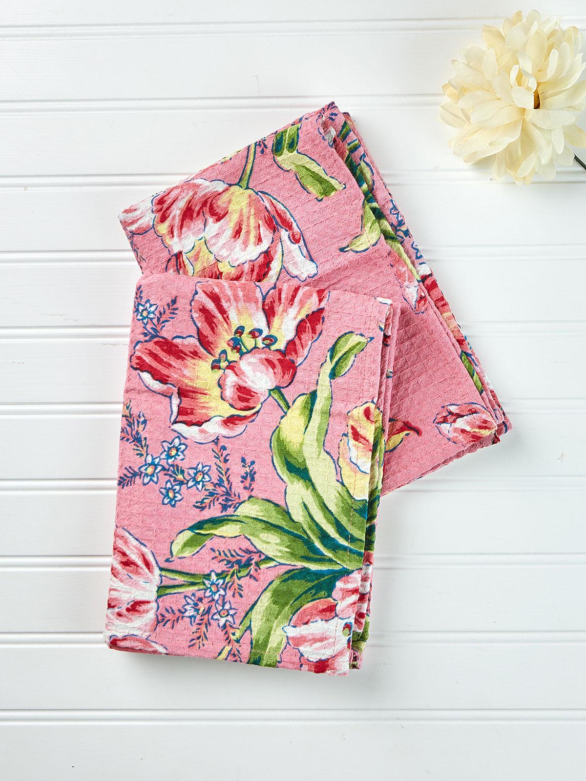 Tulip Dance Tea Towel Set of 2