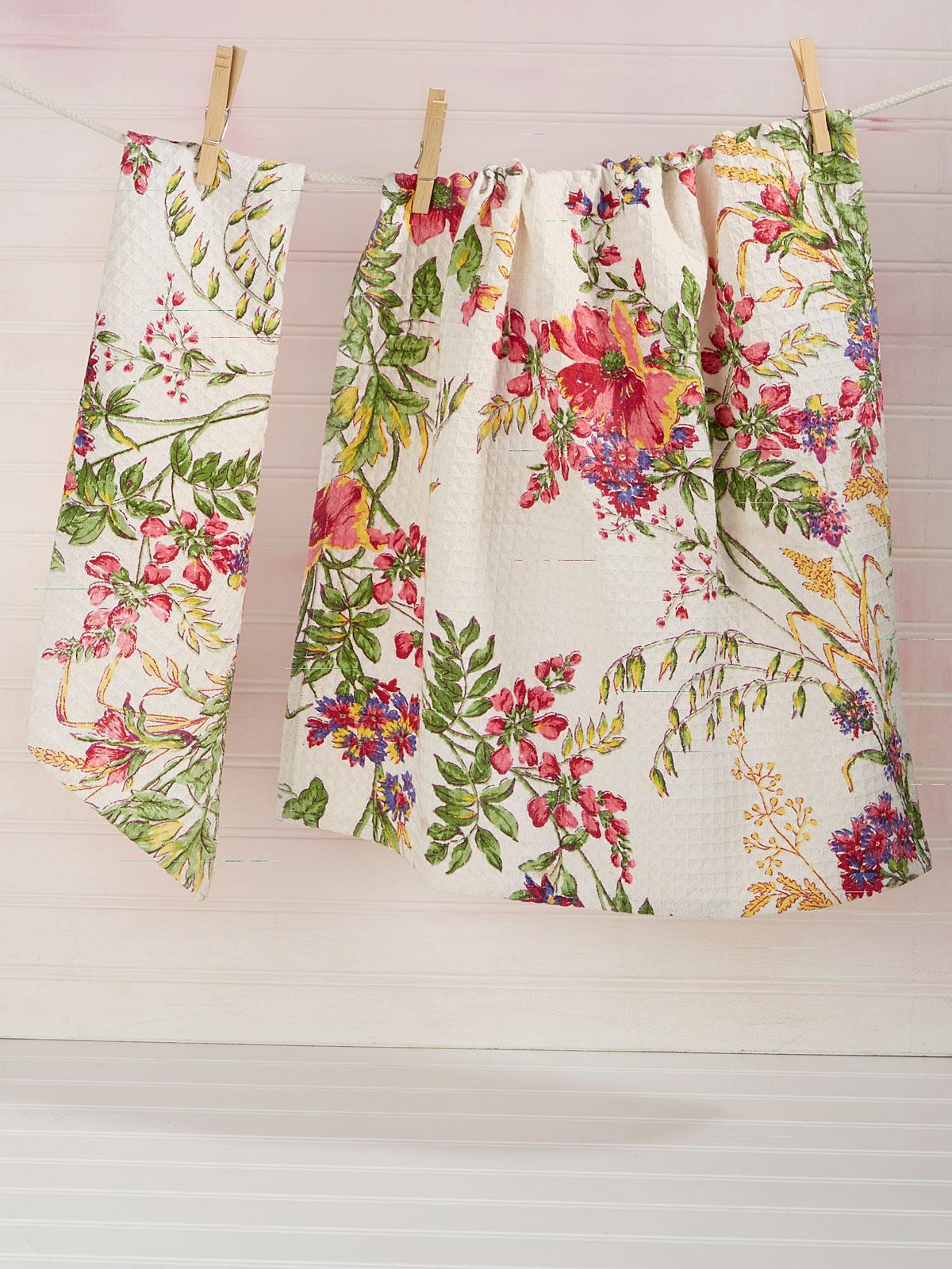 Wildflower Meadow Tea Towel Set of 2