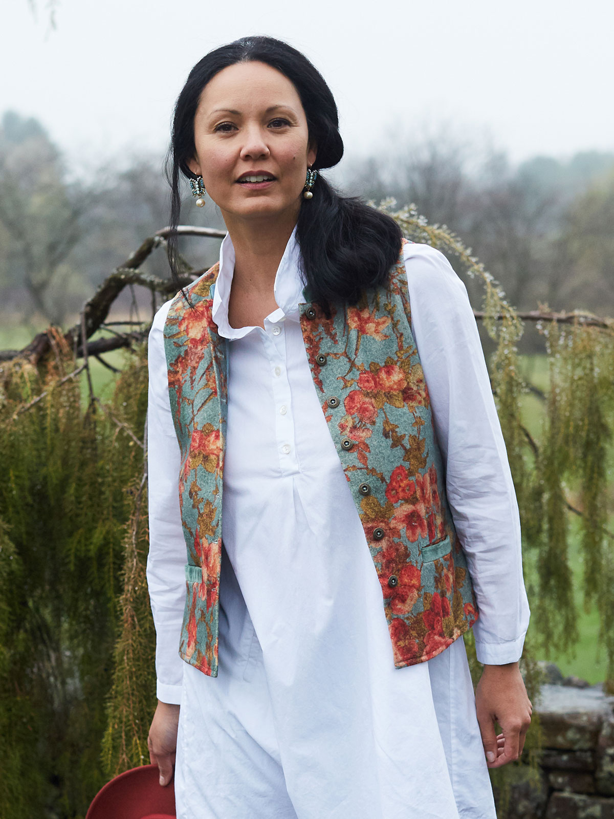 English Garden Vest