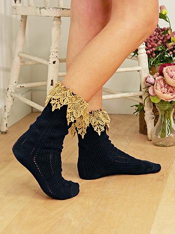 Lavish Lace Socks