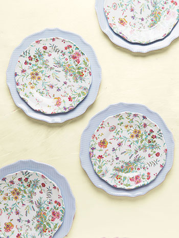 Meadow Melamine Plate Set