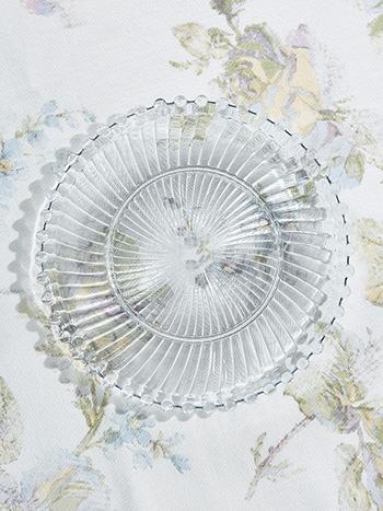 Aurora Glass Plates Set of 4