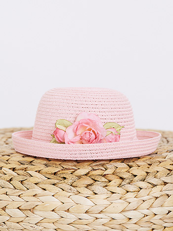 Roses Kid's Roller Hat