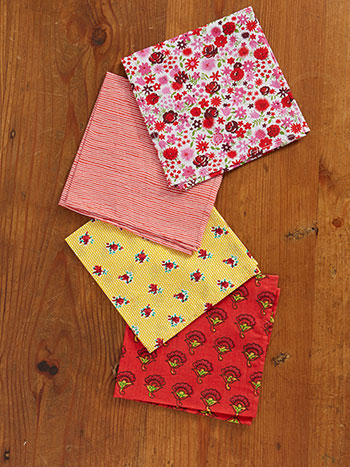 Summer Bouquet Hanky Set